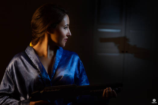 Lara Croft Tomb Raider in Kimono - Dagger of Xian