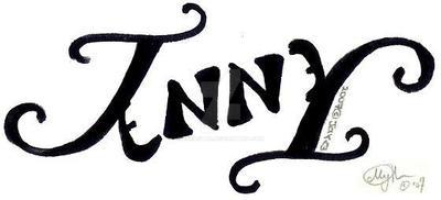 Ambigram - Jenny by xSeaStar