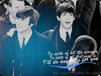 Lennon and McCartney by BeatlesforsalexX