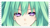 Green Heart Stamp by Ke--Y