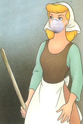 Cinderella dusting