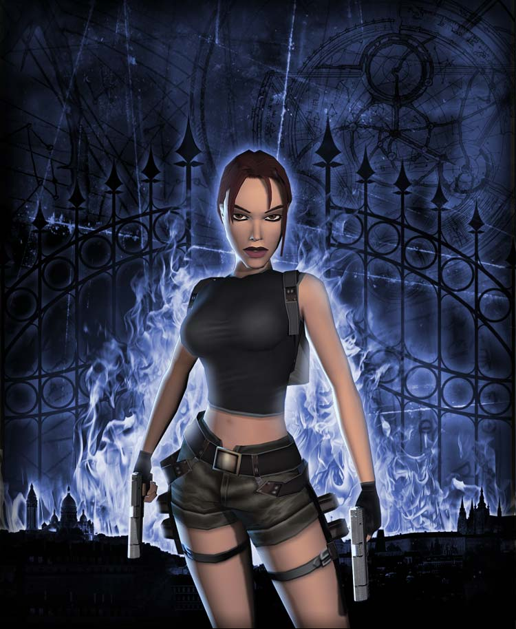 Tomb Raider And The Angel Of Darkness Render (1) By