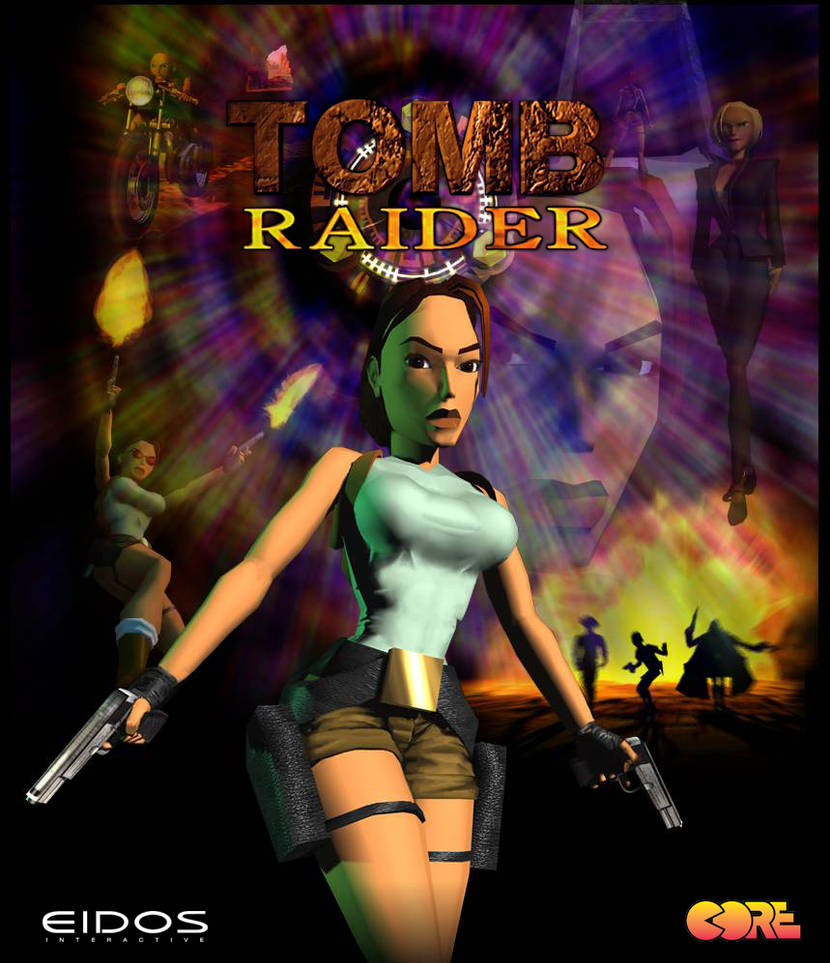 Tomb Raider 1996 20 Years Poster By Maskedlion3 On Deviantart