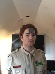 This is Officer Arnold Rimmer