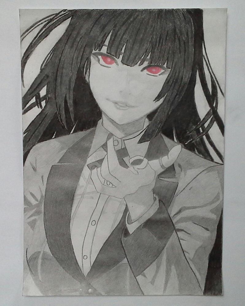 Yumeko Jabami by thatrandomcrazygirl