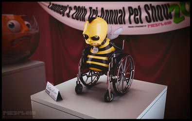 Eric the Half-a-Bee by Pikzeloid