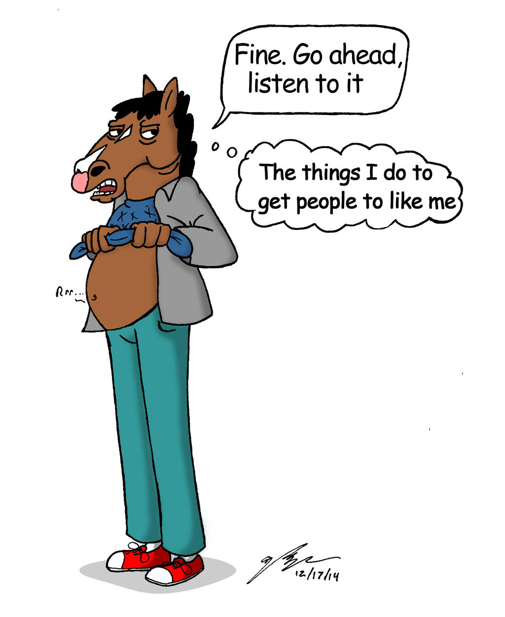 how to get people to watch bojack horseman