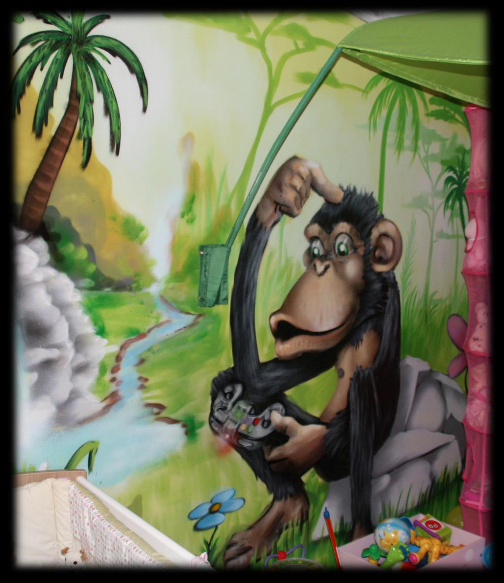 Decoration chambre d 39 enfants graffiti 34 montpel by - Decoration chambre enfant ...