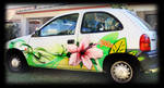 decoration graffiti car custom Aix en prov