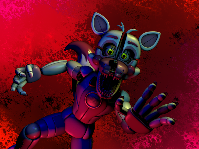 [c4d]funtimefoxy]i got you by bluthesnowleopord