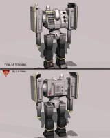 Battletech / MechWarrior TYM-1A Toyama by lady-die