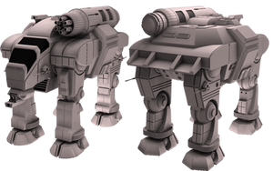 Battletech / MechWarrior GOL-5D Goliath by lady-die