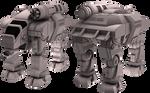 Battletech / MechWarrior GOL-5D Goliath