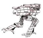 Battletech / MechWarrior CPLT-K2 Catapult updated