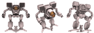 Battletech / MechWarrior Timber Wolf - Madcat MkI by lady-die