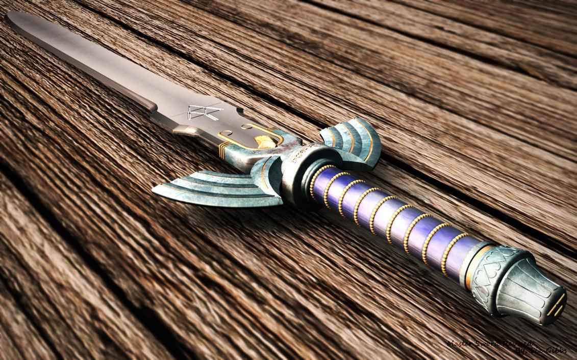Master Sword Revised by lady-die