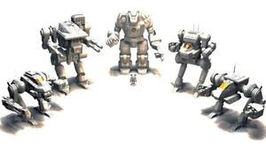 Battletech / MechWarrior Mesh Render 5 by lady-die