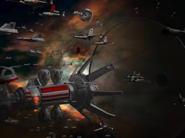 Battletech / MechWarrior Invasion by lady-die