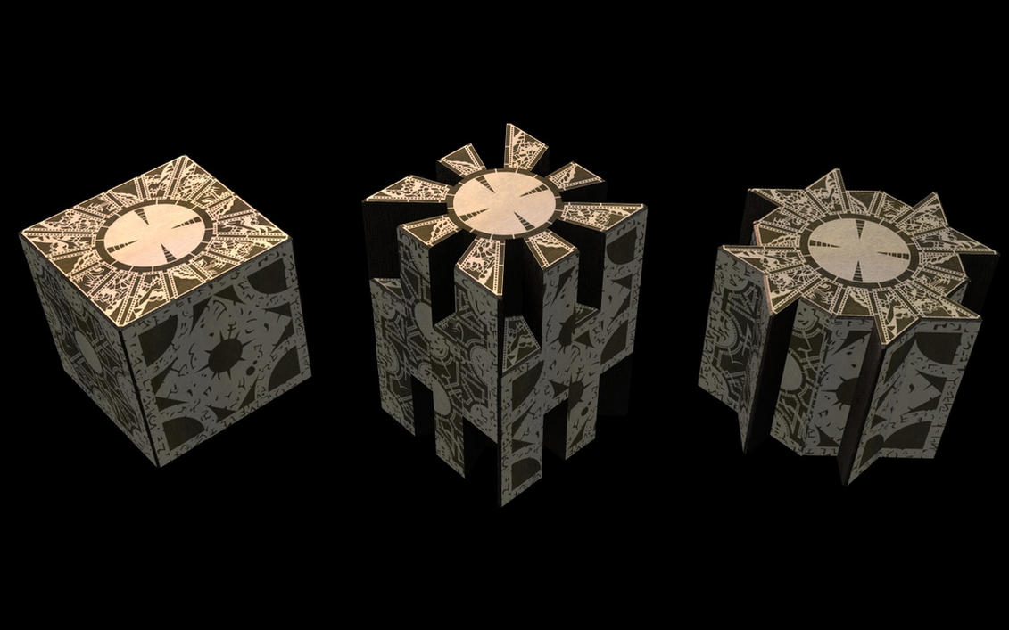 Hellraiser - Puzzlebox by lady-die on DeviantArt
