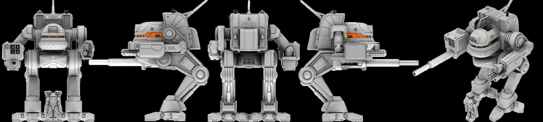 MechWrrior / BattleTech - Uller / Kit Fox