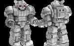 BattleTech/MechWarrior AS-7 D Atlas