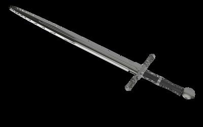 Learning Blender: Geralt's Steel Sword WIP 7