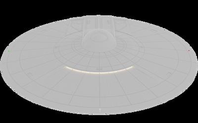Learning Blender: U.S.S. Enterprise 6