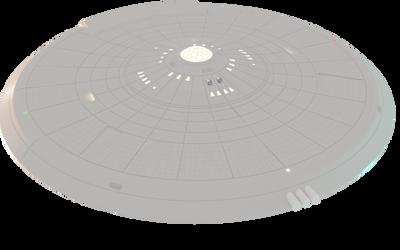 Learning Blender: U.S.S. Enterprise 9