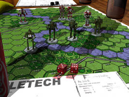 Battletech / MechWarrior A Game With Dice by lady-die