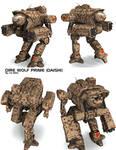 Battletech / MechWarrior Dire Wolf Prime - Daishi
