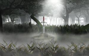 Legend of Zelda: Master Sword by lady-die