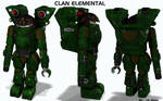 Battletech / MechWarrior Clan Elemental