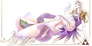 Amano Styled Zelda