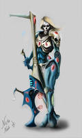 eldar iybraesil dark reaper by Nictanova