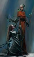 techprist and  Eldar
