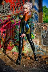 Mosh and Graffiti by JerryBennett