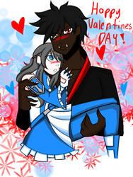Happy valentines day by nightpandora