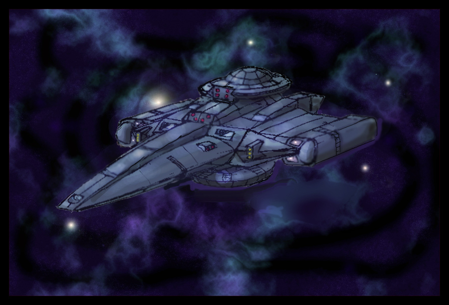 Endeavor class cruiser by Andared