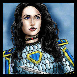 Yet Another Branwen Portrait