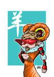 Zodiac Series Sheep