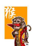 Zodiac Series Monkey