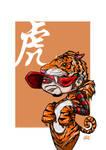Zodiac Series Tiger