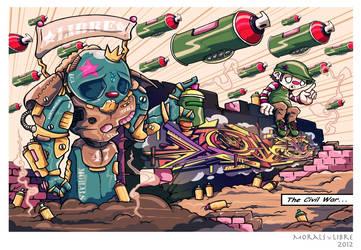 The Civil War LibreXMorals 2012 by silifulz