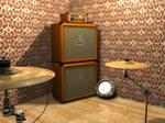 Orange Amp Render 3