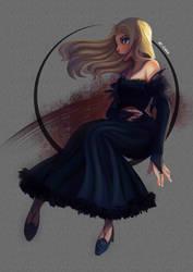 The Dark Swan by erlishie