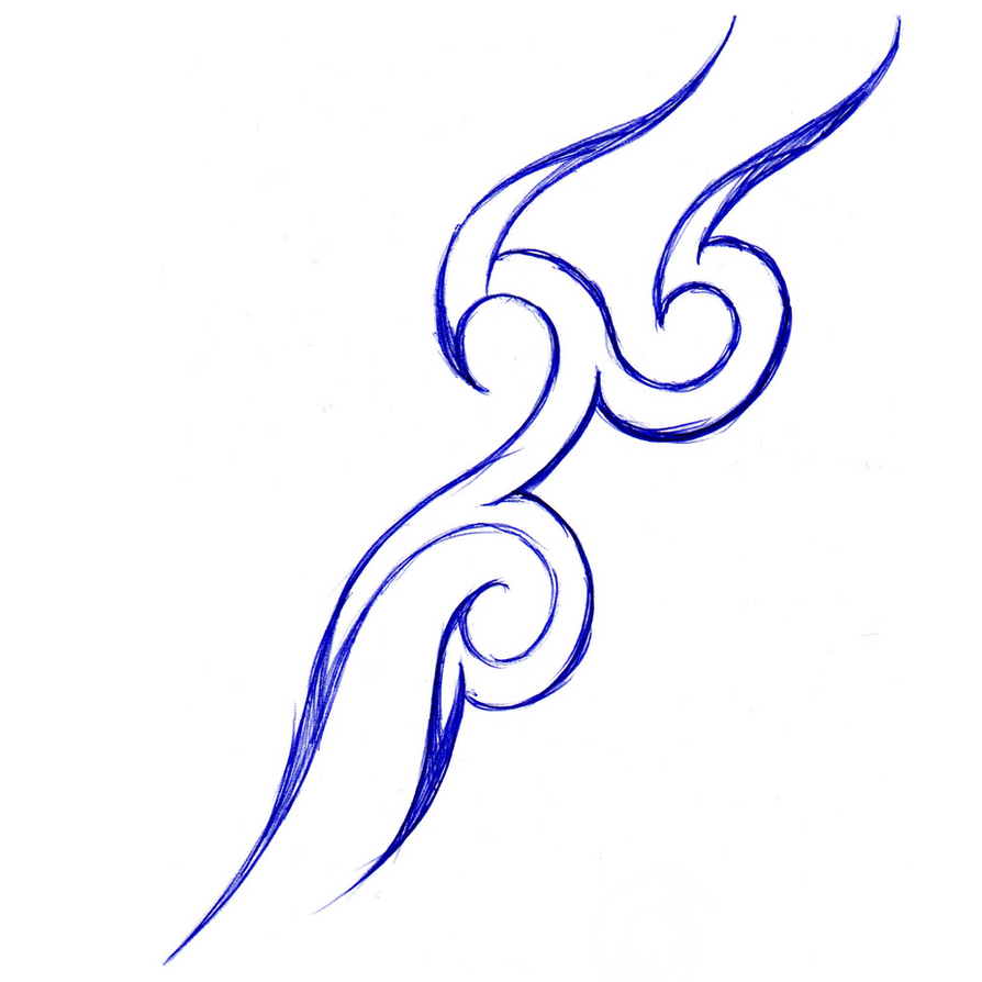easy tribal tattoo designs to draw