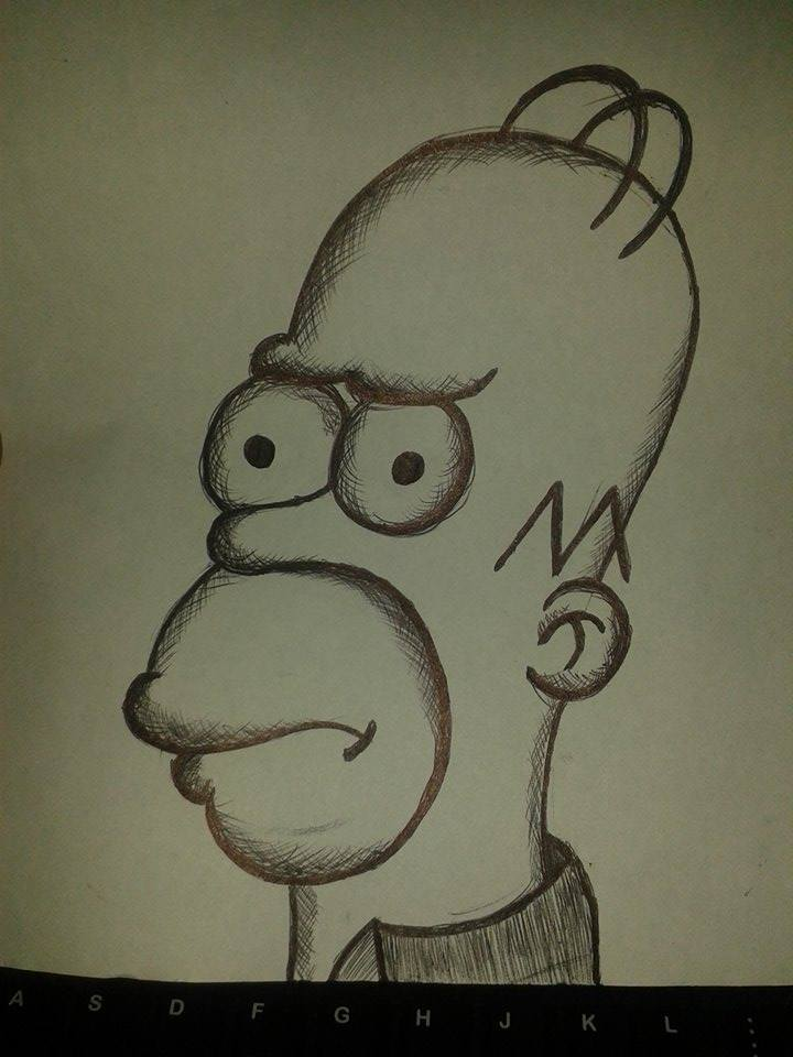 Homer Simpson by KingUchia666