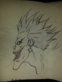 Ryuk- Death Note by KingUchia666