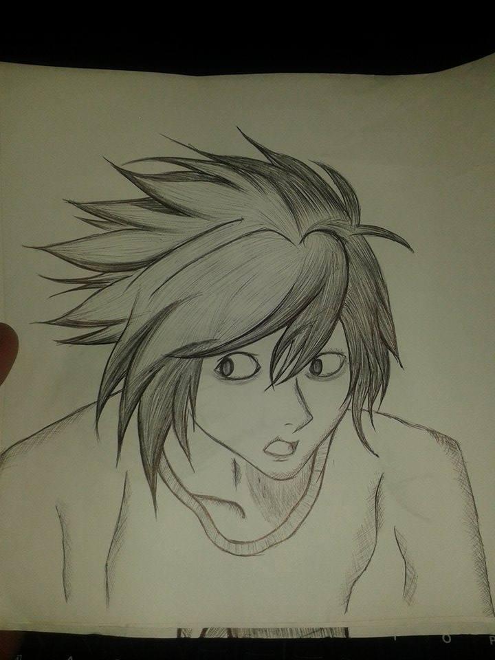 L- Ryuzaki- Death Note by KingUchia666