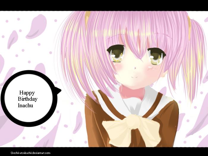 Happy Birthday Inachu by craytm